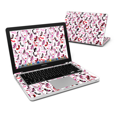 MacBook Pro 13in Skin - Burly Q Shoes