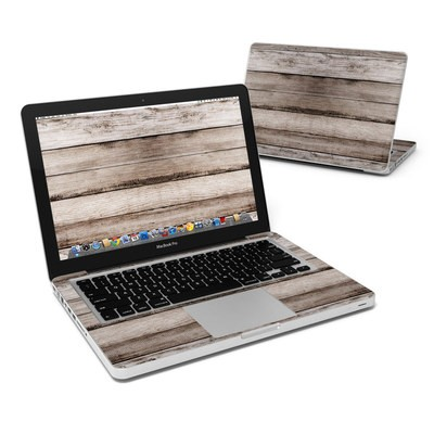 MacBook Pro 13in Skin - Barn Wood