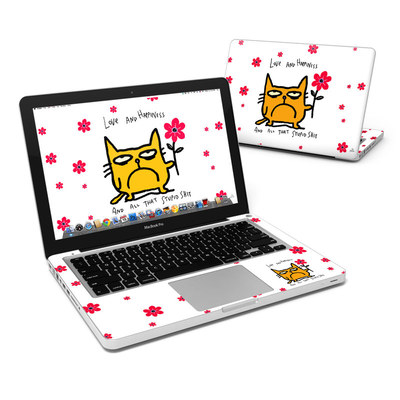 MacBook Pro 13in Skin - Catwad Happy