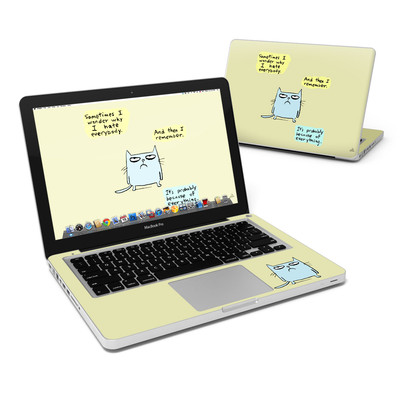MacBook Pro 13in Skin - Catwad Hate