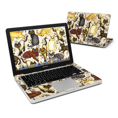 MacBook Pro 13in Skin - Cats