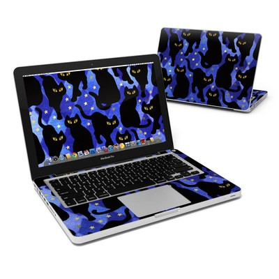 MacBook Pro 13in Skin - Cat Silhouettes