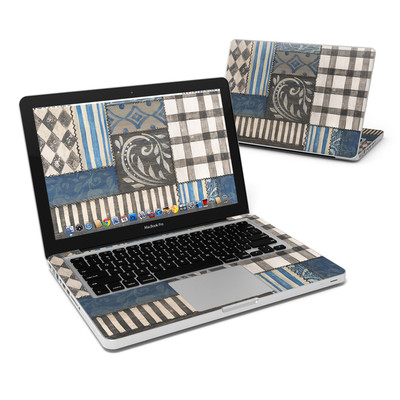 MacBook Pro 13in Skin - Country Chic Blue