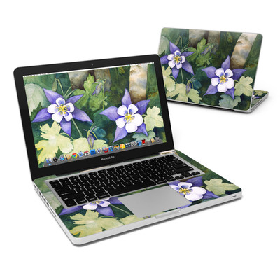 MacBook Pro 13in Skin - Colorado Columbines
