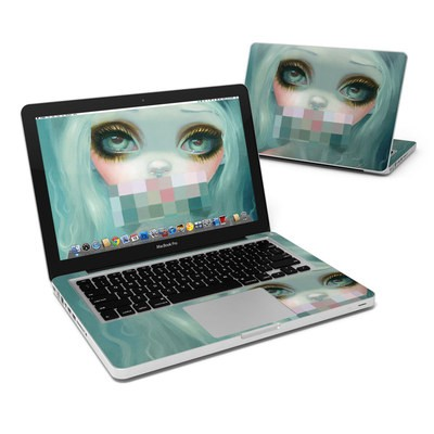 MacBook Pro 13in Skin - Censored Smile