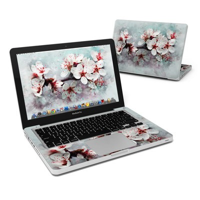 MacBook Pro 13in Skin - Cherry Blossoms