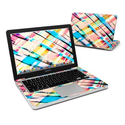 MacBook Pro 13in Skin - Check Stripe