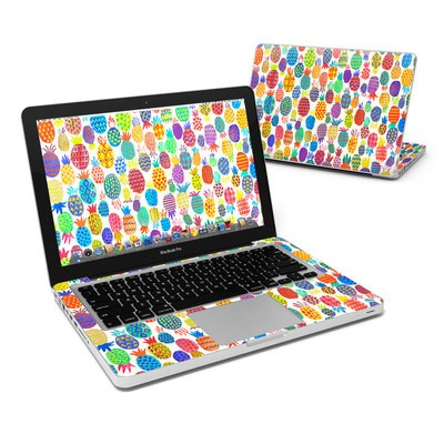 MacBook Pro 13in Skin - Colorful Pineapples