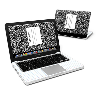 MacBook Pro 13in Skin - Composition Notebook