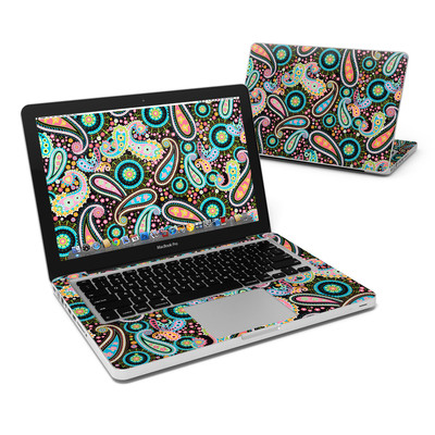 MacBook Pro 13in Skin - Crazy Daisy Paisley