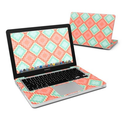 MacBook Pro 13in Skin - Coral Diamond