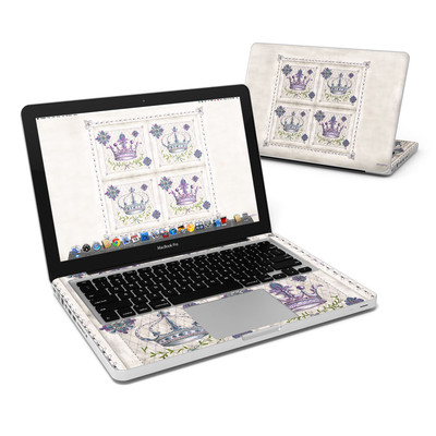MacBook Pro 13in Skin - Purple Crown