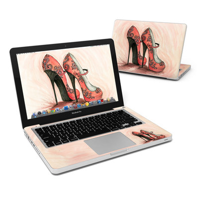 MacBook Pro 13in Skin - Coral Shoes