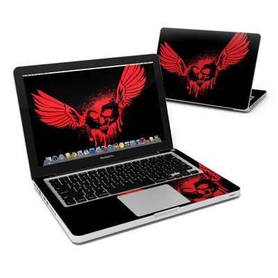 MacBook Pro 13in Skin - Dark Heart Stains