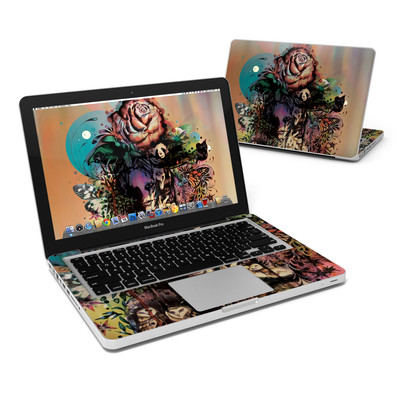 MacBook Pro 13in Skin - Doom and Bloom