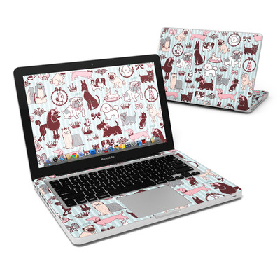 MacBook Pro 13in Skin - Doggy Boudoir