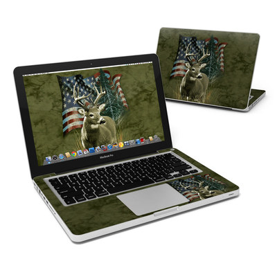 MacBook Pro 13in Skin - Deer Flag
