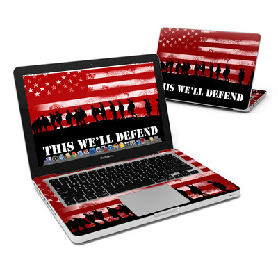 MacBook Pro 13in Skin - Defend