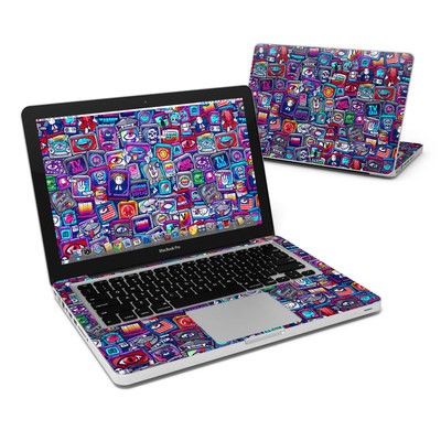 MacBook Pro 13in Skin - Distraction Tactic