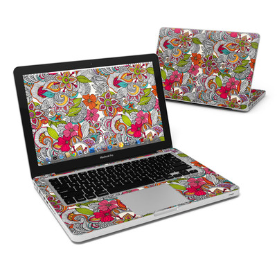 MacBook Pro 13in Skin - Doodles Color