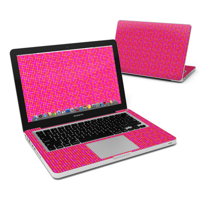 MacBook Pro 13in Skin - Dots Pink