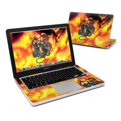 MacBook Pro 13in Skin - Dragon Wars