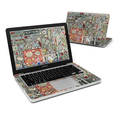 MacBook Pro 13in Skin - Everything and Nothing
