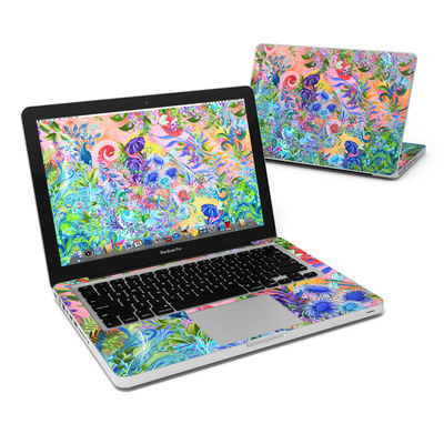 MacBook Pro 13in Skin - Fantasy Garden