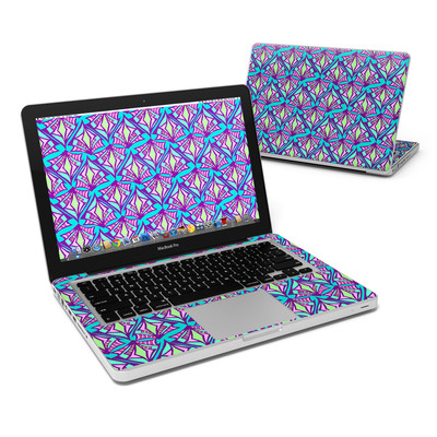 MacBook Pro 13in Skin - Fly Away Teal