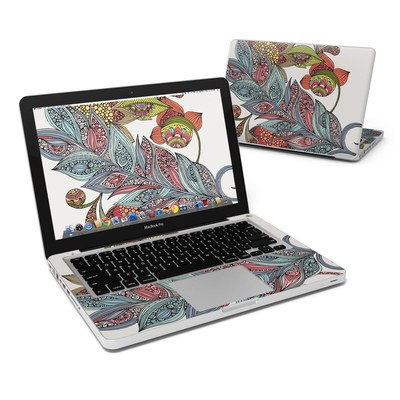 MacBook Pro 13in Skin - Feather Flower