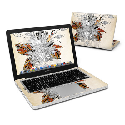 MacBook Pro 13in Skin - Fall Floral