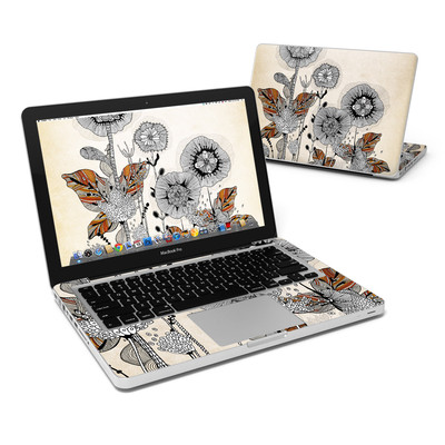MacBook Pro 13in Skin - Four Flowers