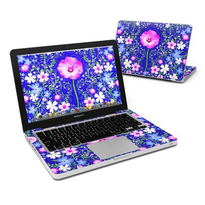 MacBook Pro 13in Skin - Floral Harmony