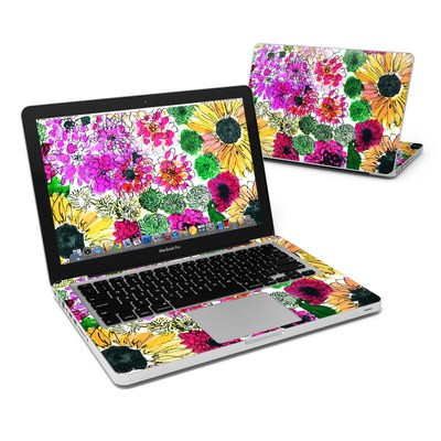 MacBook Pro 13in Skin - Fiore
