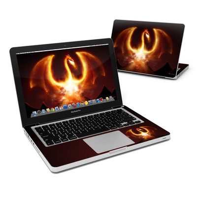 MacBook Pro 13in Skin - Fire Dragon
