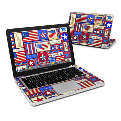 MacBook Pro 13in Skin - Flag Patchwork