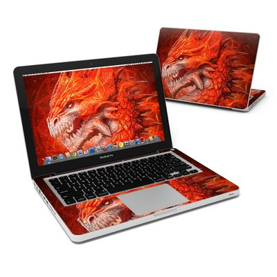 MacBook Pro 13in Skin - Flame Dragon