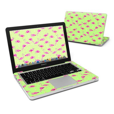 MacBook Pro 13in Skin - Flamingo Day