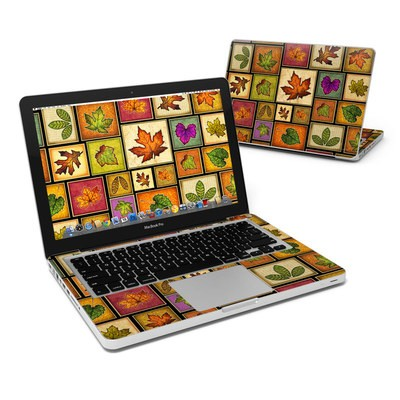 MacBook Pro 13in Skin - Fall Leaves