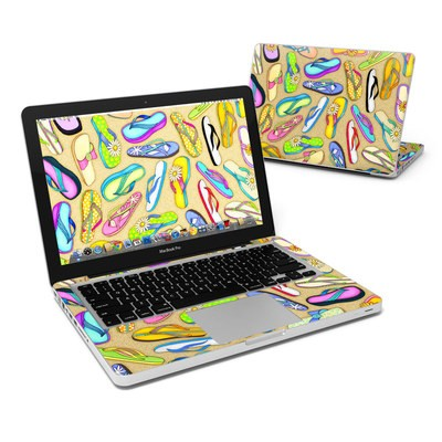 MacBook Pro 13in Skin - Flip Flops