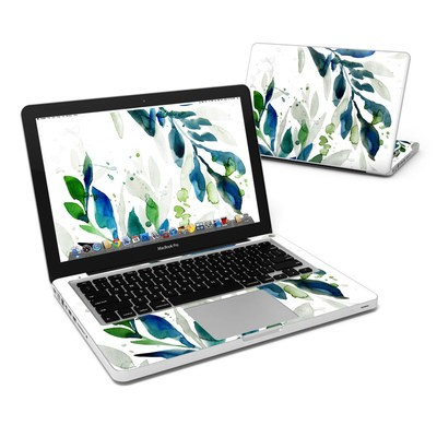 MacBook Pro 13in Skin - Floating Leaves