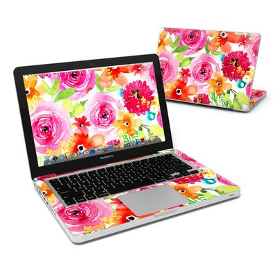 MacBook Pro 13in Skin - Floral Pop
