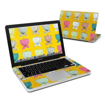 MacBook Pro 13in Skin - Flower Cups