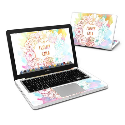 MacBook Pro 13in Skin - Flower Child