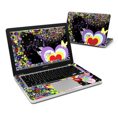 MacBook Pro 13in Skin - Flower Cloud