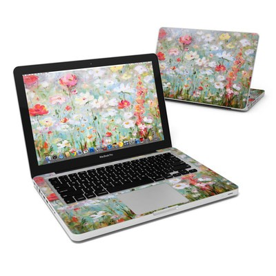 MacBook Pro 13in Skin - Flower Blooms