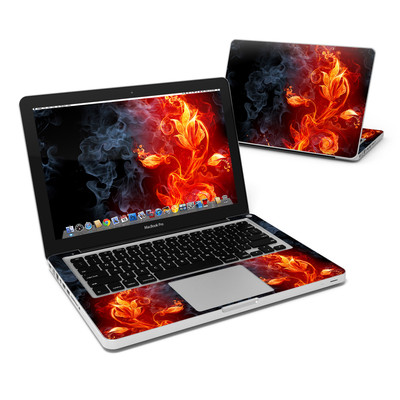 MacBook Pro 13in Skin - Flower Of Fire