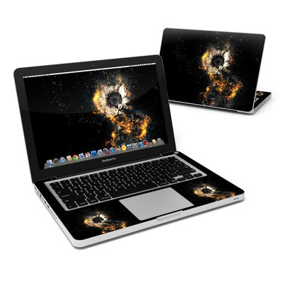 MacBook Pro 13in Skin - Flower Fury