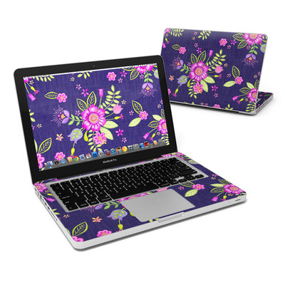 MacBook Pro 13in Skin - Folk Floral