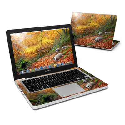 MacBook Pro 13in Skin - Forest Gold